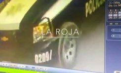 Policías estatales atropellan a un perro en la Colonia Aguaje 2000