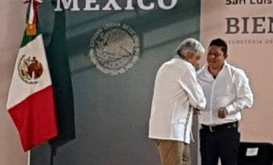 El diputado Ricardo Gallardo respalda la Cuarta Transformación