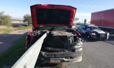 Conductor salva la vida milagrosamente tras accidentarse en Carretera 57
