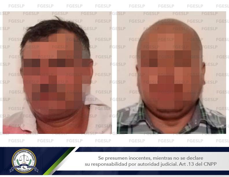 Arrestan a dos hombres acusados de violar a una mujer en un baldío de Matehuala