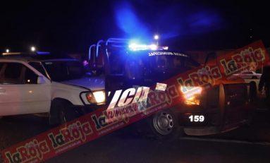 Conductor no vio patrulla de Soledad que abanderaba un accidente y choca