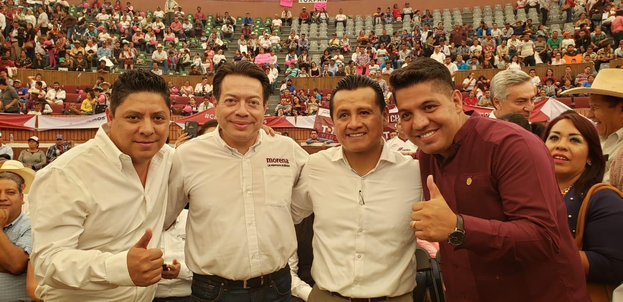 En Michoacán, Gallardo Cardona reconoce civilidad política de  Morena