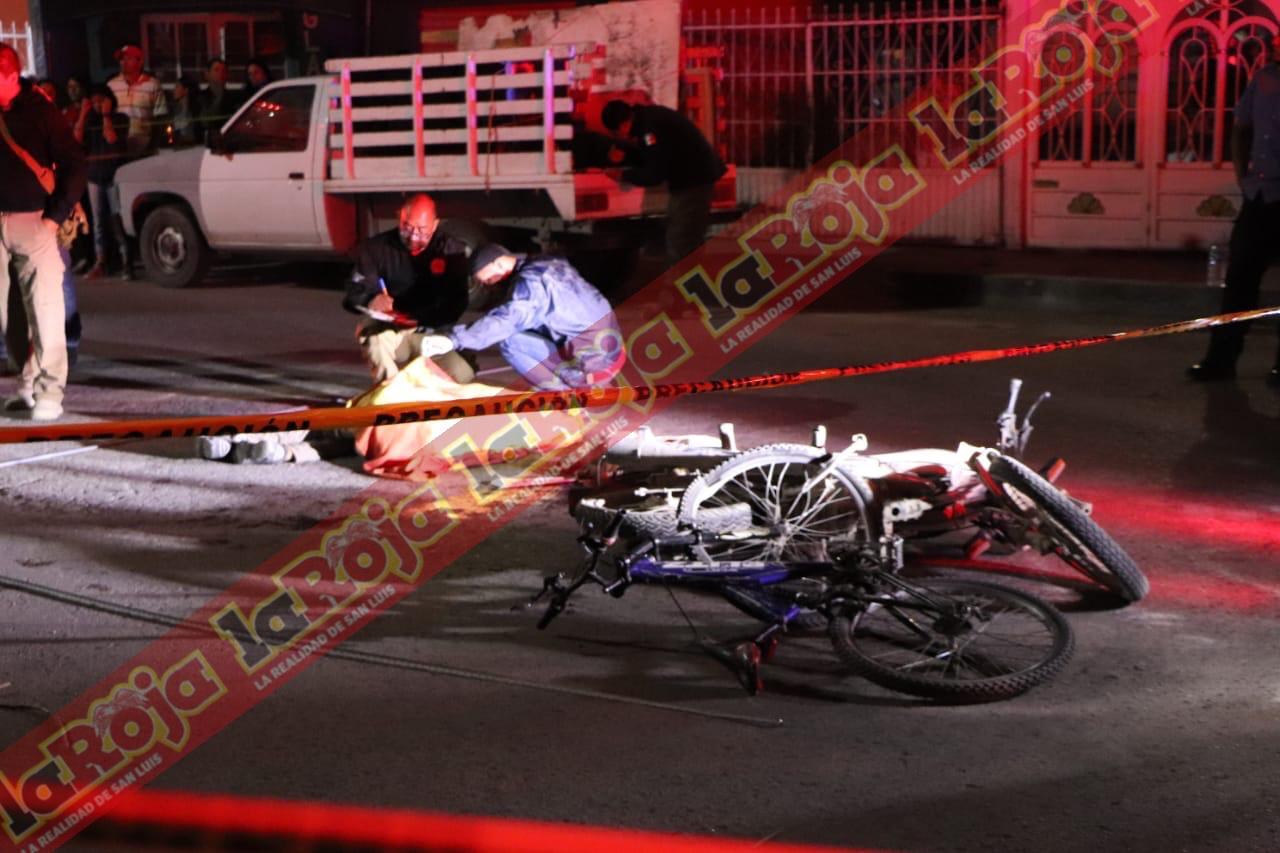 Un ciclista fue el que provocó la tragedia anoche en las terceras y donde fallecieron dos menores