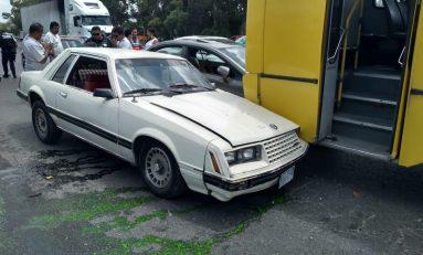 Ebrio dormita al volante y ocasiona accidente en Periférico Oriente y Carretera a Rioverde