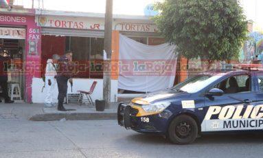 Atacan y dan muerte a balazos a comerciante de Avenida de los Pinos