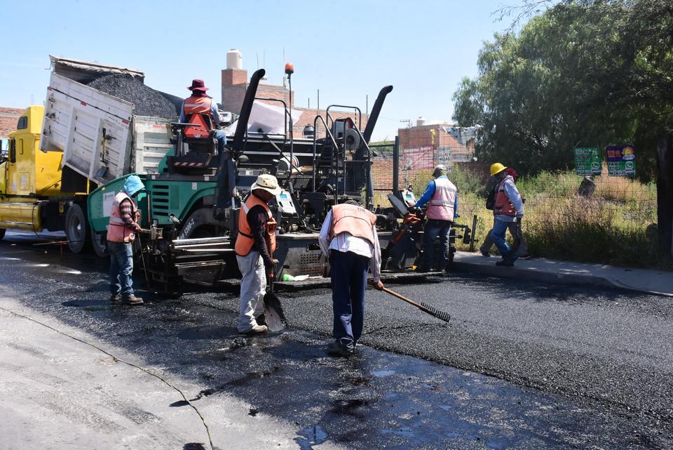 Se impulsa programa de mantenimiento, rehabilitación y modernización de principales vialidades en Soledad