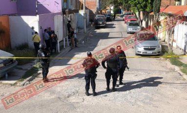 Policías municipales son recibidos a balazos en el Fraccionamiento San Ángel primera sección