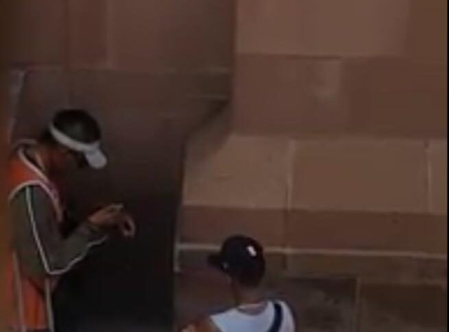 Se viralizan jóvenes drogándose escondidos en un edificio de Cantera