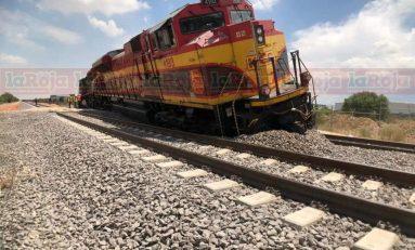 Tren se descarrila cerca de la General Motors