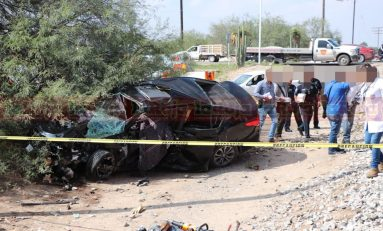 Muere conductor al intentar ganarle el paso al tren camino al aeropuerto