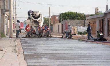 15 obras de pavimentación integral se  han realizado en primer año de gestión municipal