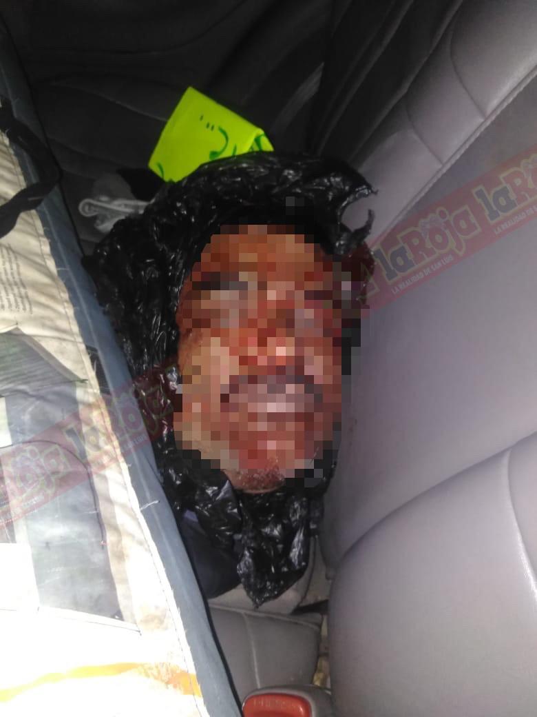 Decapitan a hombre en Rioverde, sus verdugos fueron detectados mientras trasladaban la cabeza