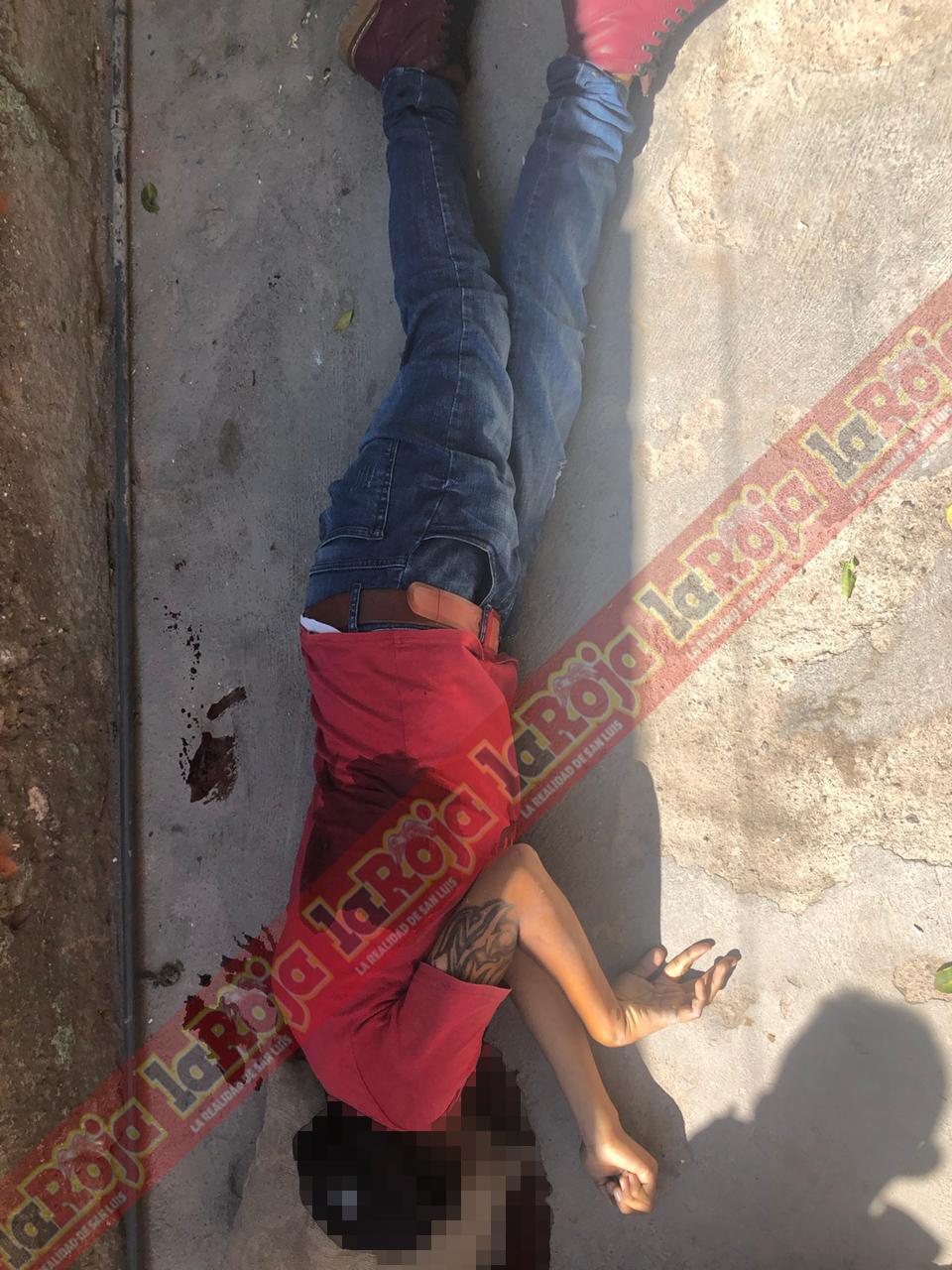 Matan a dos hombres en Valentín Amador