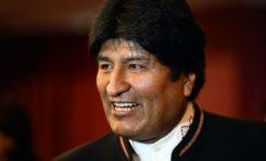Evo Morales estaría llegando esta mañana a México