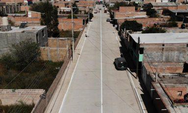 Más de 3500 habitantes de la zona oriente serán beneficiados con pavimentación integral