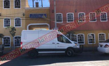 """Localizan sin vida a un hombre originario de Celaya, Guanajuato. En un cuarto del """"Hotel San Luis"""""""