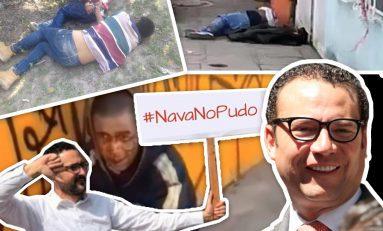 PARA EL ALCALDE NAVA LA INSEGURIDAD NO HA REBASADO A LA POLICÍA MUNICIPAL AL CONTRARIO DICE ESTAR MEJOR SEGÚN SUS ESTADÍSTICAS