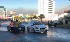 Fifí choca en lujoso automóvil y provoca fuerte movilización policial