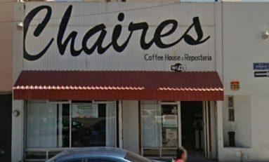 Comando armado asalta al cafetería Chaires de Avenida Tatanacho