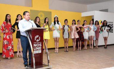 """Realizan ceremonia de presentación de finalistas de certamen """"Miss Earth"""""""
