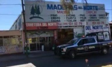 Asaltan maderería en Avenida Fray Diego de la Magdalena