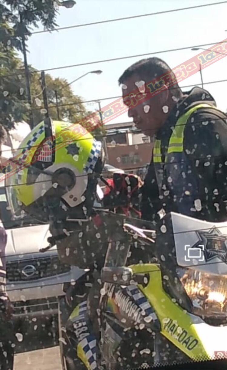 Tránsito mordelón de San Luis pide hasta 4 por dejarte ir