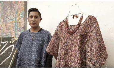 Joven indígena tsotsil logra llegar al Fashion Week gracias a sus diseños.