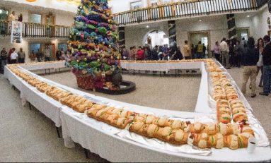 Invitan a partida de monumental Rosca de Reyes en Soledad