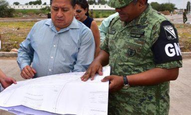 Anuncian arranque de construcción de cuartel para la GN
