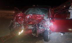 Accidente automovilístico en la Carretera a Guadalajara deja tres muertos