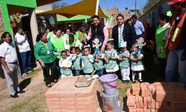 Inician obras de rehabilitación y construcción en estancia infantil municipal Capullito II