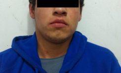 """¡Cayó """"El Chevechas""""! Al joven se le identifica como líder de una banda de roba autos en la zona de Soledad"""