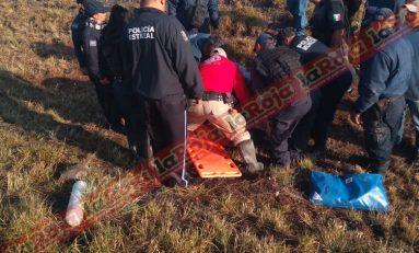 Autobús de pasajeros vuelca en la Zacatecas-SLP, hay un muerto y 27 heridos
