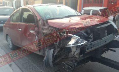 Conductora atropella a persona adulta mayor en la Avenida San Pedro