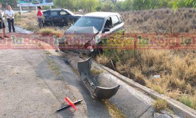 SE REGISTRA APARATOSO ACCIDENTE EN LIBRAMIENTO Y CAMINO A LA Presa.