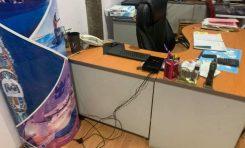 Roban oficinas en Cordillera de los Alpes