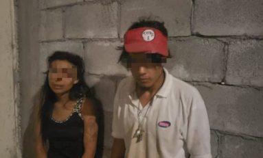 Cae pareja que cometía robos en la Zona Norte de la Ciudad
