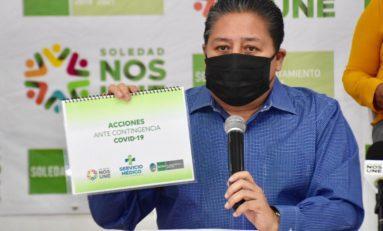 Alcalde soledense anuncia acciones sociales por pandemia