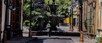 HOY EL CENTRO HISTÓRICO ES DE LAS PALOMAS Y ESTATUAS