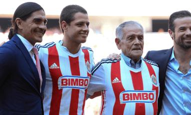 """Muere el exfutbolista Tomás Balcazar, abuelo del """"Chicharito"""" Hernández"""