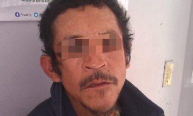 Arrestan a ladrón de transeúntes en Periférico Oriente