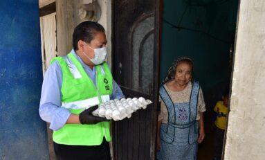 Ayuntamiento de Soledad repartirá 40 toneladas de huevo durante esta contingencia