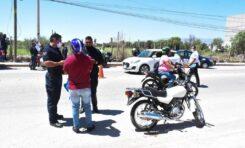 SEGURIDAD PÚBLICA DE SOLEDAD IMPLEMENTA OPERATIVO DE REVISIÓN DE MOTOCICLISTAS