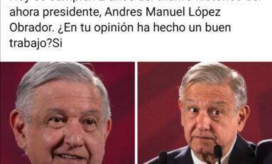 POTOSINOS APRUEBAN GOBIERNO DE AMLO… ¡DE PANZASO!