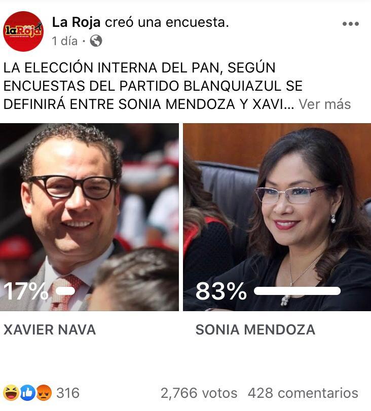 Nava, arrasado por Sonia Mendoza en el PAN