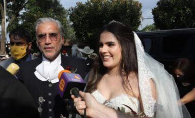 Hija de Alejandro Fernández se casa en Guadalajara con más de 100 invitados en plena pandemia
