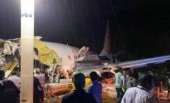 Avión de Air India Express se estrella con 191 pasajeros en aeropuerto de la India