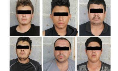 Detienen a seis integrantes del Cártel del Golfo con arsenal en Tamaulipas