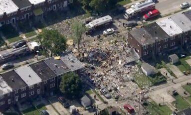 Explosión en Baltimore deja al menos una persona sin vida