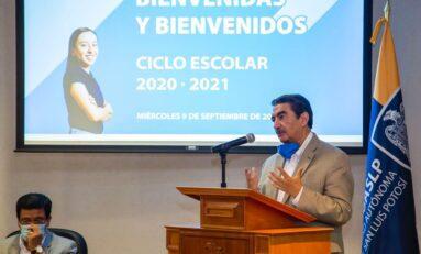 Rector de la UASLP continúa recorriendo campus universitarios para dar inicio a Ciclo Escolar 2020-2021